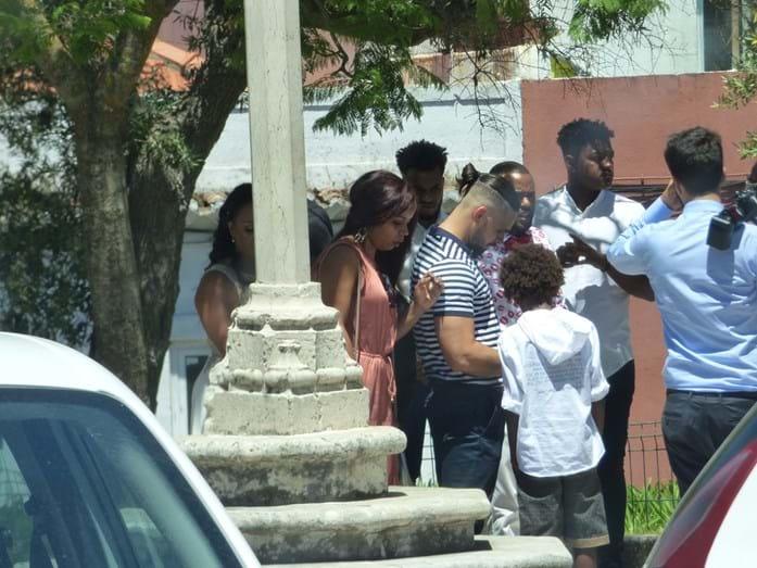 O batizado do irmão de Renato Sanches