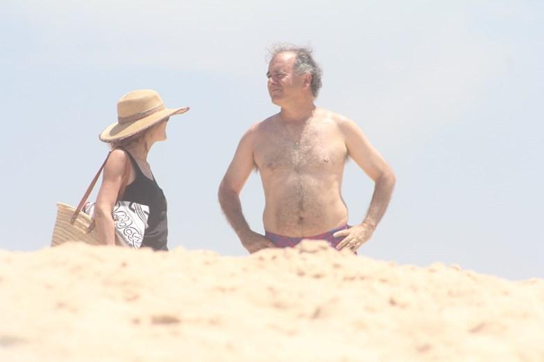 António e Patrícia Pires de Lima no seu paraíso balnear da Comporta