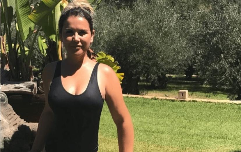 Katia Aveiro mostra a sua nova silhueta em Ibiza
