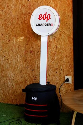 EDP charger onde será possível carregar os telemóveis