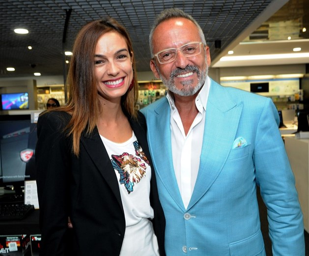 Manuel Luís Goucha e Iva Lamarão