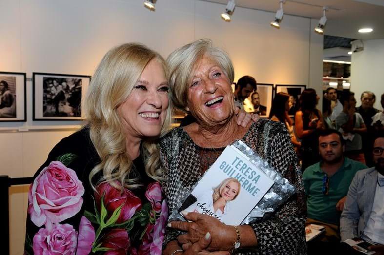 Teresa Guilherme e a mãe Lidia Ribeiro
