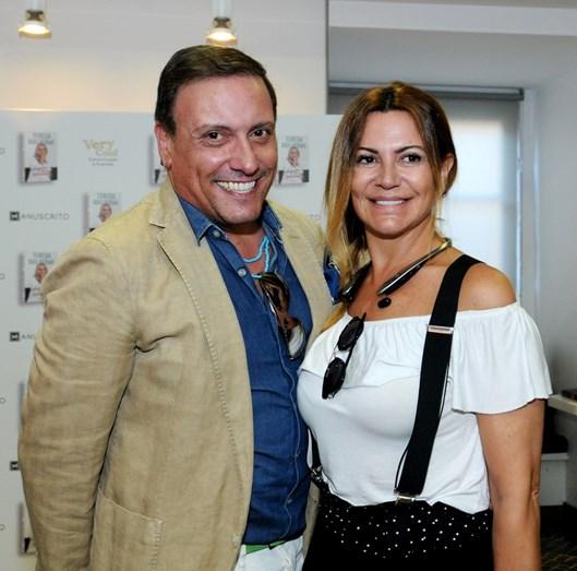 Joaquim Monchique e Silvia Rizzo