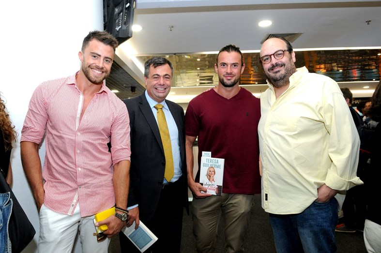 Rui Andrade, Quintino Aires, Marco Costa da Casa dos Segredos, e Miguel Dias