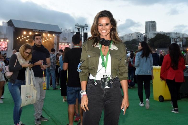 Cláudia Vieira esteve com o namorado mas não se deixou fotografar com ele