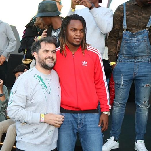 Renato Sanches com Rui Pedro Tendinha