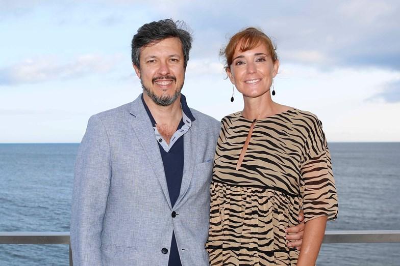 O casal Bruno Santos e Petra Anselmo