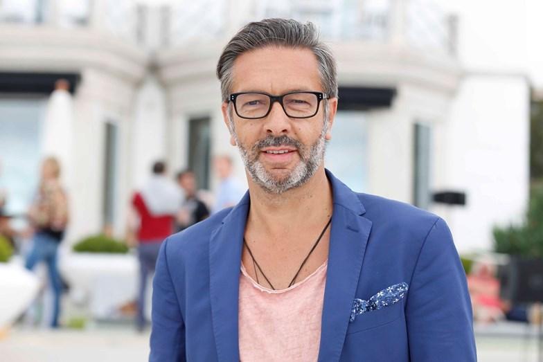 O apresentador da TVI, Joaquim Sousa Martins