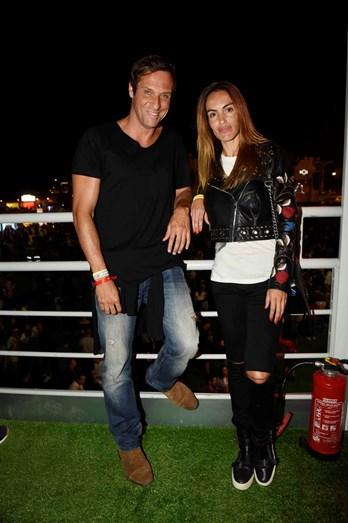 O casal Liliana Aguiar e José Carlos Pereira