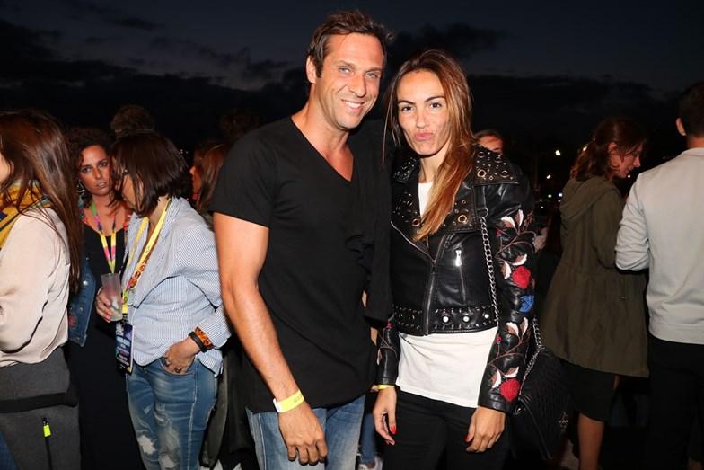 José Carlos Pereira e a namorada Liliana Aguiar