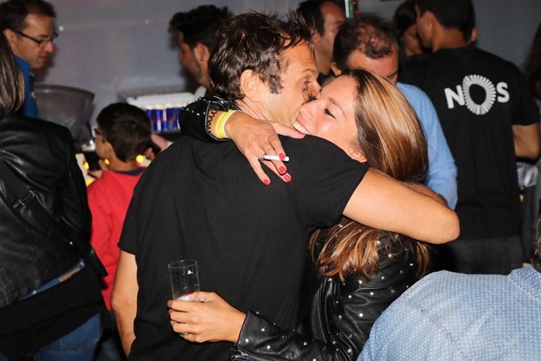 José Carlos Pereira reencntra amiga