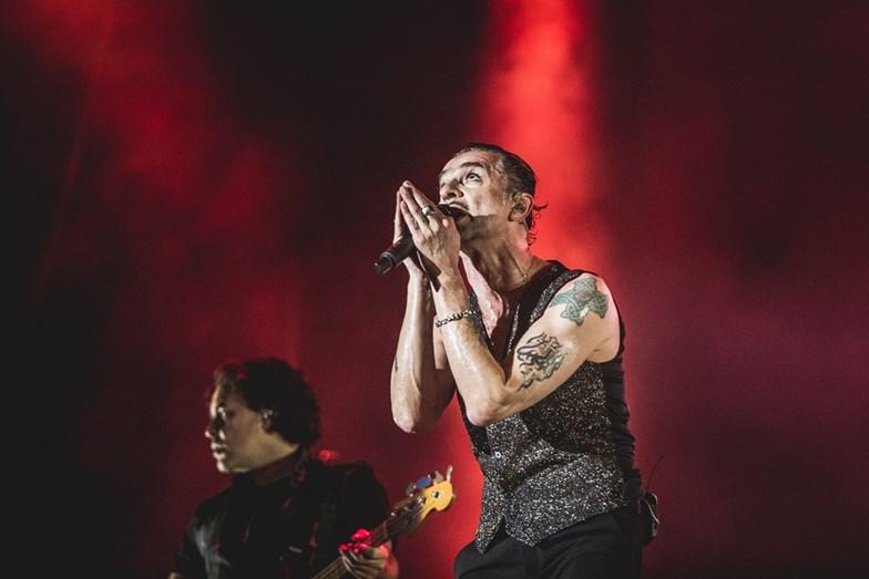 Actuação dos Depeche Mode