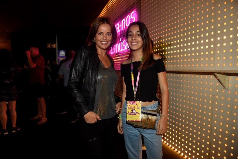 Raquel Rocheta e a filha Mariana