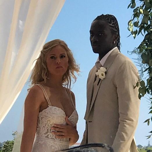 Sanna Ladera e Éder Lopes casaram-se este domingo, 9 de julho. Veja as fotos do casamento