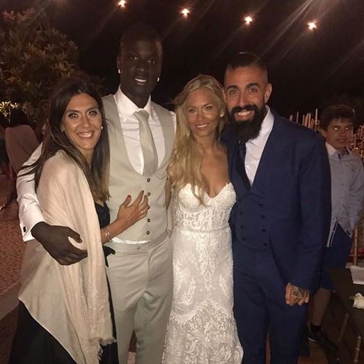 O alfaiate Paulo Battista e a mulher estiveram entre os convidados