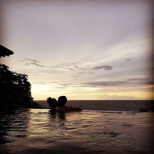 Pizzi e mulher partilham fotografia das suas férias na ilha de Phuket