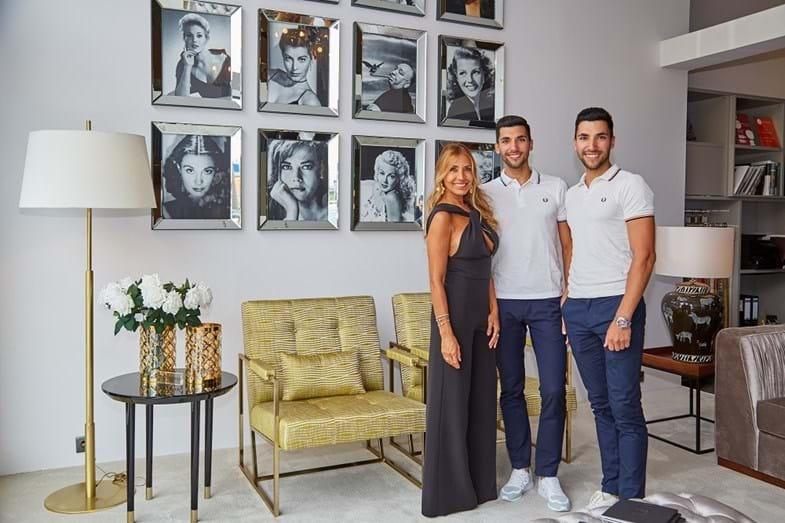 Cláudia Jacques, Nuno e Marco Moreira