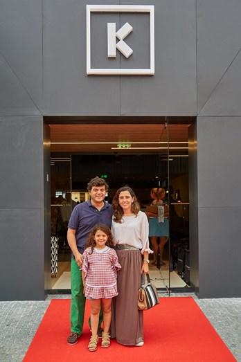 Mariana Seabra, João Espírito Santo e a filha do casal