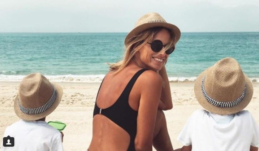 Núria Madriga está à espera de bebé
