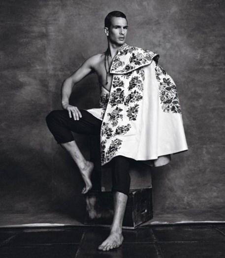 José Maria Manzanares para Dolce&Gabbana