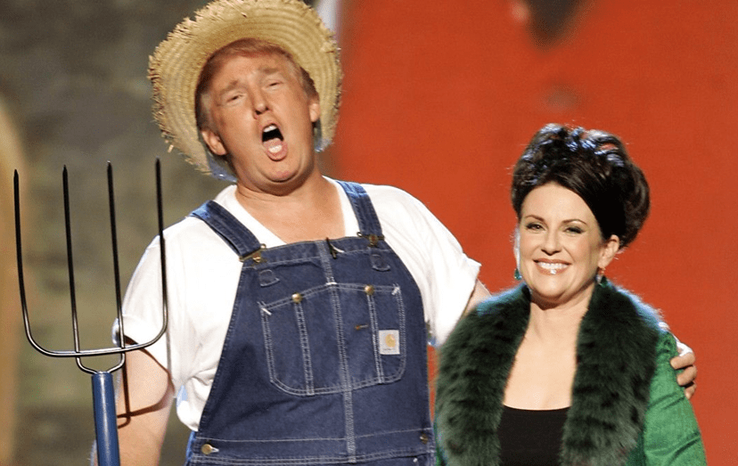 Donald Trump em 'Green Acres'
