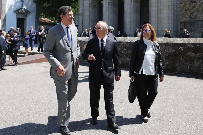 Veja quem esteve no funeral de Américo Amorim, o homem mais rico de Portugal