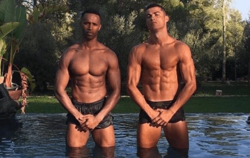 Cristiano Ronaldo e Semedo. Esta foi a última imagem partilhada por CR7