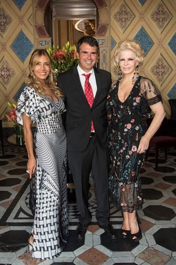 Cláudia Jacques, Miguel Medina e Lili Caneças