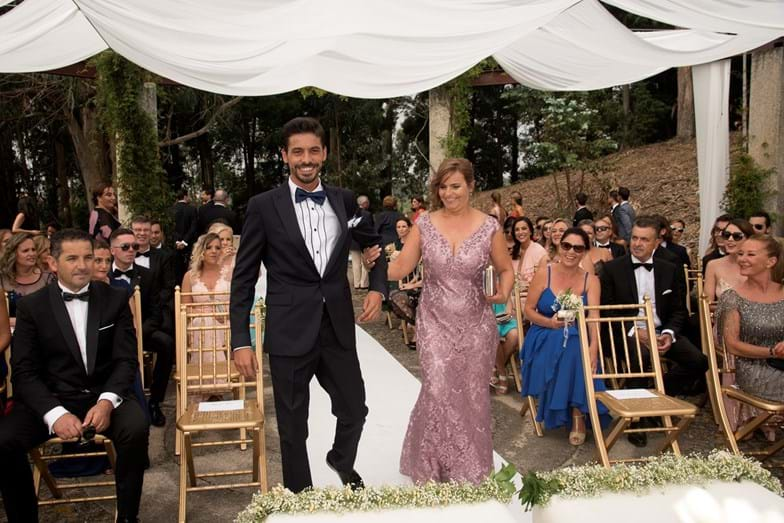 O noivo e a mãe, Paula Braga