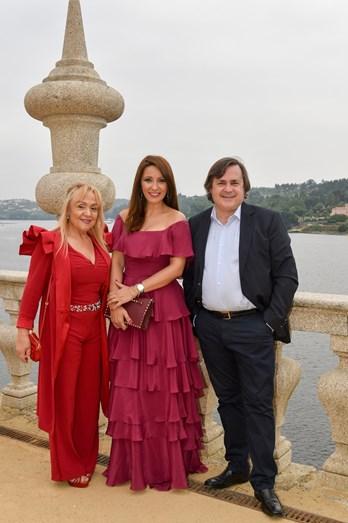 Maria Clara Gomes, Micaela Oliveira e Alfredo Resende