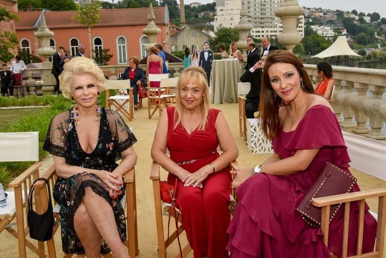 Lili Caneças, Maria Clara Gomes e Micaela Oliveira