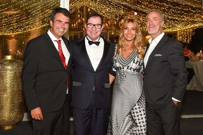 Miguel Medina, Carlos Magalhães, Cláudia Jacques e Jorge Curval