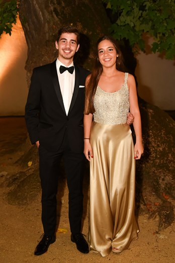 Irmãos da noiva, Carlos e Maria Carolina Magalhães