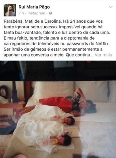 Publicação partilhada por Rui Maria Pêgo