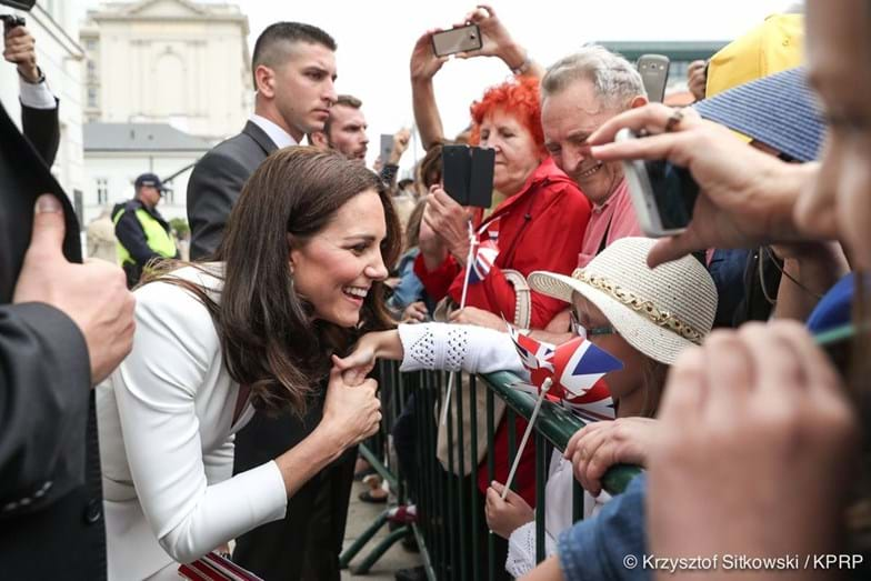 Kate Middleton comparada a princesa Diana
