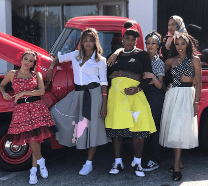 O baby shower de Serena Williams ao estilo dos anos 50