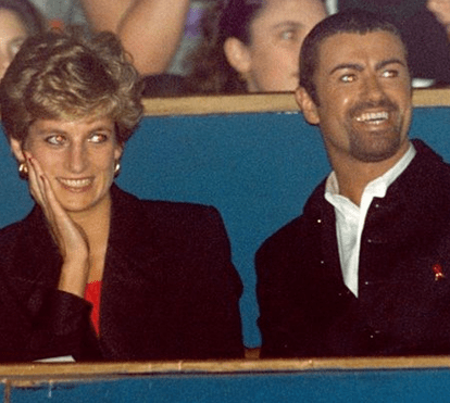 As conversas íntimas entre Diana e George Michael