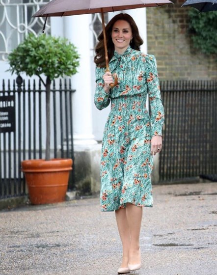 "O ""look"" de Kate Middleton"