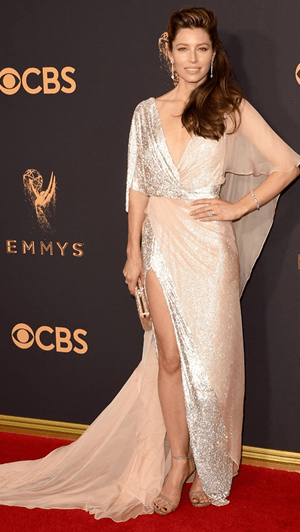 A glamorosa 'red carpet' dos Emmy Awards