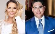 Surpresa! Katia Aveiro mostra anel de noivado