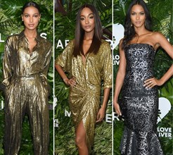 Beldades da Victoria's Secret arrasam nos 'Golden Heart Awards'