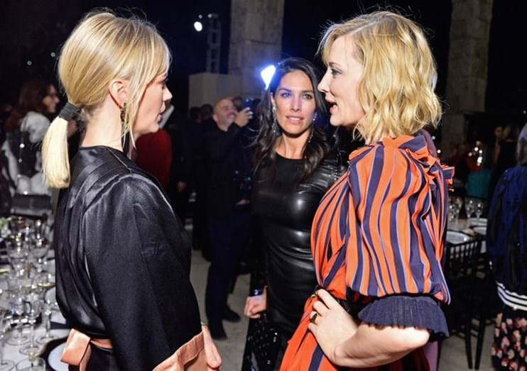 January Jones e Cate Blanchett.
