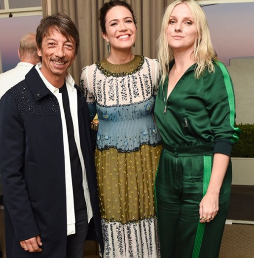 Pierpaolo Piccioli, Mandy Moore e Laura Brown.