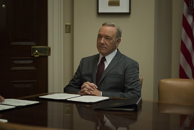 Kevin Spacey em 'House of Cards'