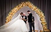 O casamento de luxo de Serena Williams que teve... 3 vestidos de noiva