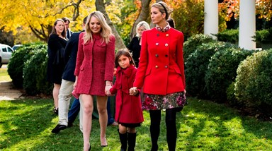 Os looks requintados de Melania e Ivanka Trump no Thanksgiving da Casa Branca