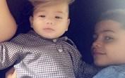 Cristianinho mostra-se carinhoso com o seu único irmão, Mateo