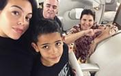 Georgina viaja para o Dubai e deixa filha em Madrid, no dia que Alana celebra 1 mês de vida