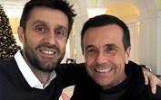 Jorge Gabriel e Daniel Oliveira encontraram-se... e fizeram as pazes