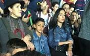 Família Aveiro em apuros durante jogo de Cristiano Ronaldo no Dubai